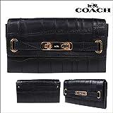 (コーチ)COACH 財布 長財布 クラッチバッグ F53963 ブラック (並行輸入品)