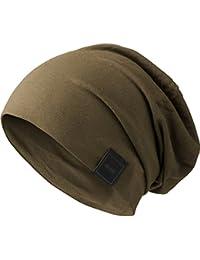 アーバン Classics ジャージー Slouch ビーニー帽 - オリーブ