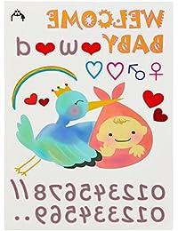 Baby-Purima【マタニティペイントシール】マタニティ フォト 用 ボディ シール ベリーペイント ペイント マタニティ こうのとりイラスト