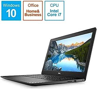 DELL(デル) Inspiron 15 3593 (ブラック) 15.6型ノートパソコン[ Core i7-1065G7 / 8GB / 512GB(SSD)/ Microsoft Office 2019] NI375L-9WHBB