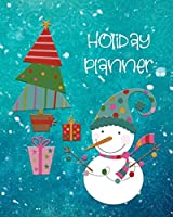 Holiday Planner: Christmas Organizer, Journal and Notebook