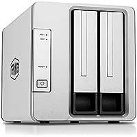 TerraMaster D2-310 USB3.1 Gen2(10Gbps) HDDケース 2ベイ RAIDケース RAID0/RAID1対応(HDD付属なし)