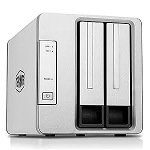 TerraMaster D2-310 USB3.0(10Gbps) HDDケース 2ベイ RAIDケース RAID0/RAID1対応(HDD付属なし)
