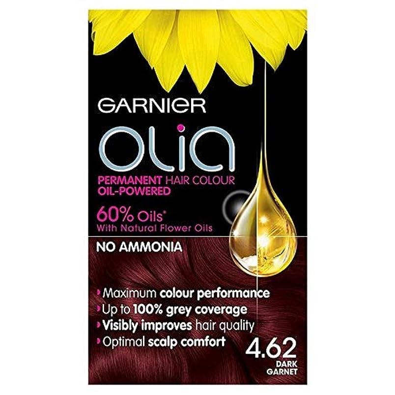 分類グラマーサイドボード[Garnier ] ガルニエOlia 4.62濃いガーネット赤パーマネントヘアダイ - Garnier Olia 4.62 Dark Garnet Red Permanent Hair Dye [並行輸入品]