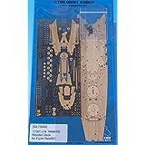 テトラモデルワークス 1/700 日・戦艦 大和 NEXT.01用 木製甲板 エッチングパーツ付