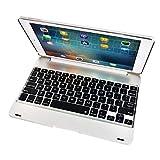 Holarosies F19BワイヤレスBluetoothキーボードiPad / Pro 9.7用iPadエア/ 2 78キータブレットキーボード用スマートキーパッドカバーケース