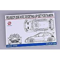 Hobby Design 1 / 24プジョー206 WRC 2003ディテールアップセットタミヤhd02 – 0312
