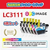 GPC Image ブラザー対応 Brother LC3111-4PK インクカートリッジ 4色セット+ 黒 2本 ブラザー LC3111 インク 互 換 残量表示機能 2年保証 個包装 大容量 説明書付 画像