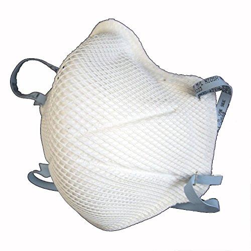 MOLDEX 微細粉じんカットマスク 2112 N95 折りたたみ式 白