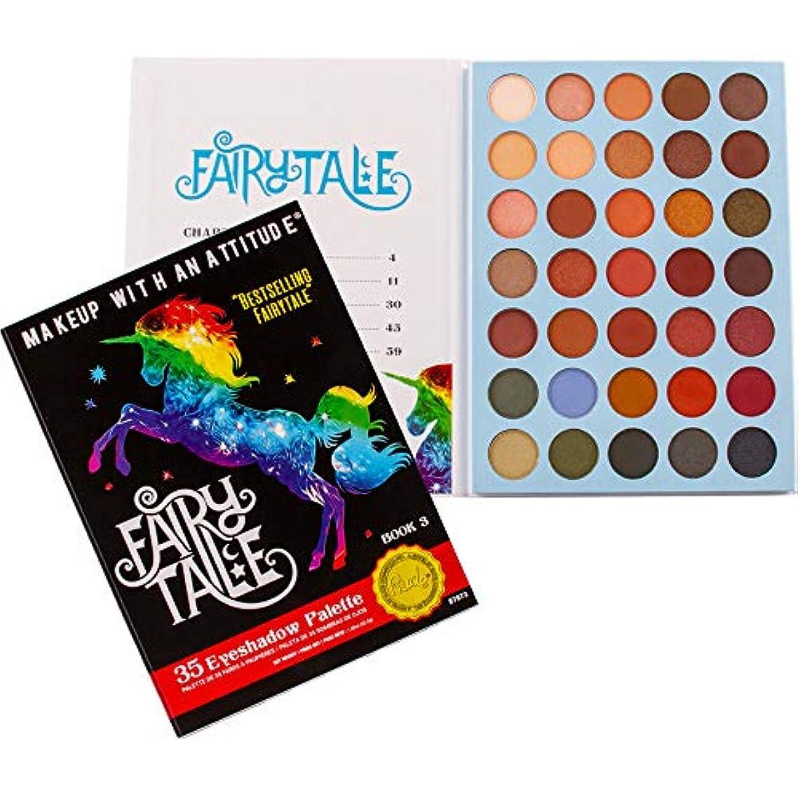 拒否エクステント前書きRUDE Fairy Tales 35 Eyeshadow Palette - Book 3 (並行輸入品)