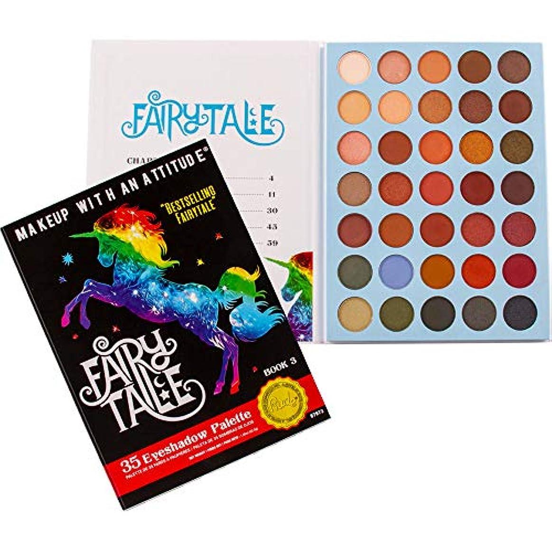 家庭教師急襲考慮RUDE Fairy Tales 35 Eyeshadow Palette - Book 3 (並行輸入品)