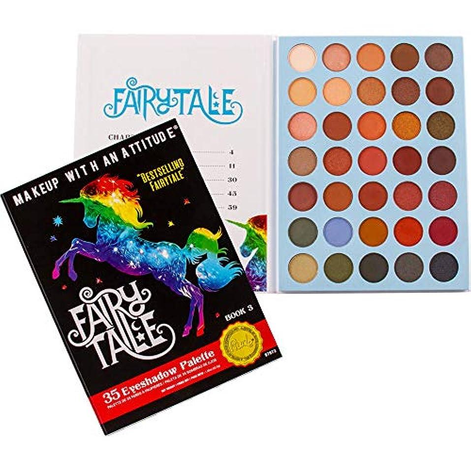 フォーマット留め金臨検RUDE Fairy Tales 35 Eyeshadow Palette - Book 3 (並行輸入品)