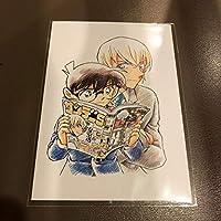 一点限り[名探偵コナン] サンデーS 定期購買特典 ミニ複製原画 安室 江戸川コナン