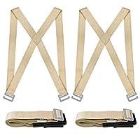nouvcoo Lifting and移動ストラップ、リフト2-personと移動システムwith Foam pad-easy to carry家具アプライアンスまたは任意Heavyかさばるアイテムnv01