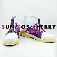 【サイズ選択可】コスプレ靴 ブーツ K-1407 ゴッドイーター2 GOD EATER2 ギルバート・マクレイン 女性24CM