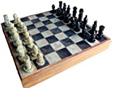 Best チェスボード - Stonkraft 12x12インチ石/木製チェスゲームボードセット + 手作りポーン Review