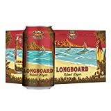 Kona Longboard Hawaiian Lager Can, 355ml (Pack of 6)