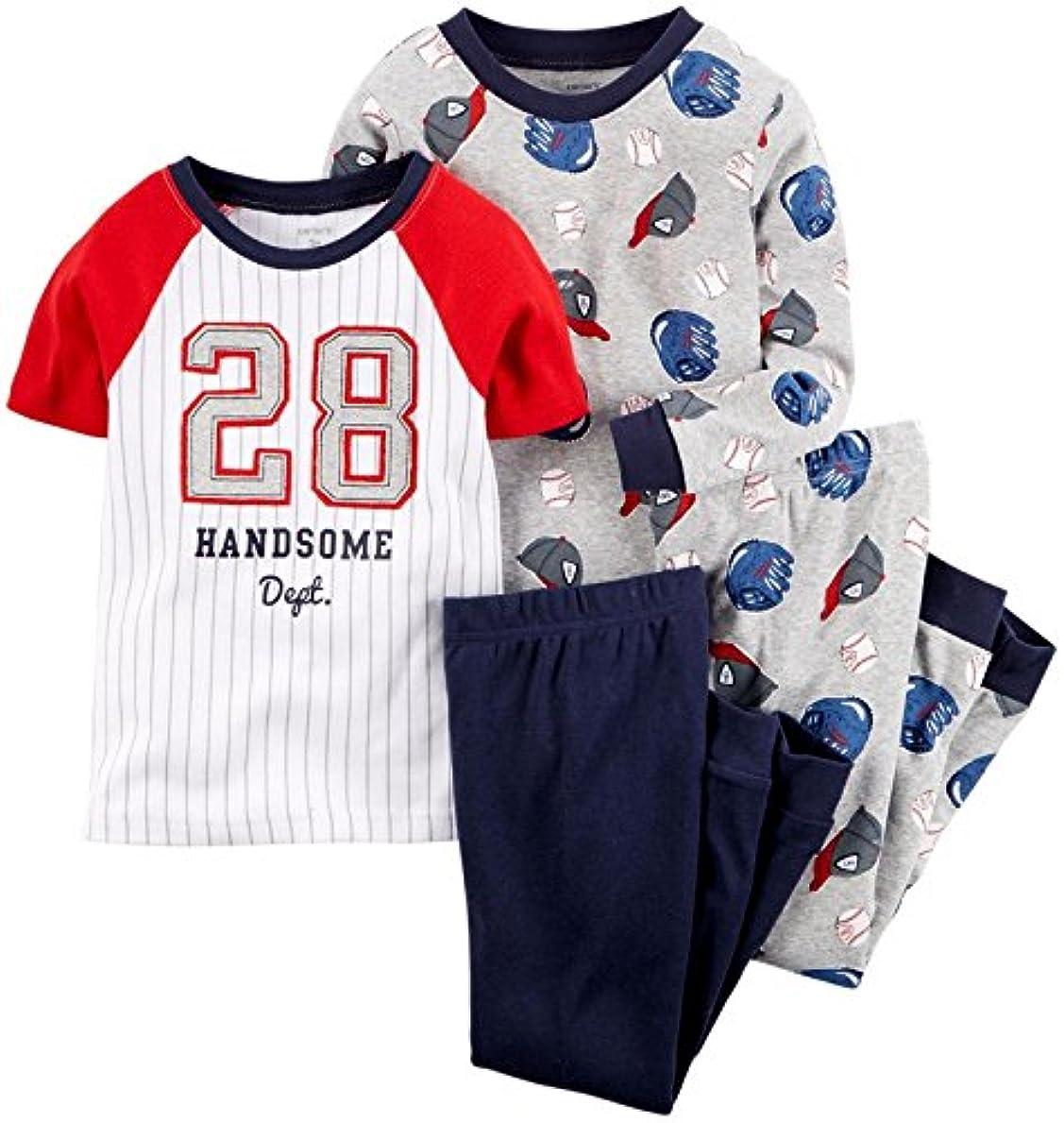 試す処理するグリップCarter 's Baby Boys ' 4 PieceスポーツTシャツPJセット(ベビー)