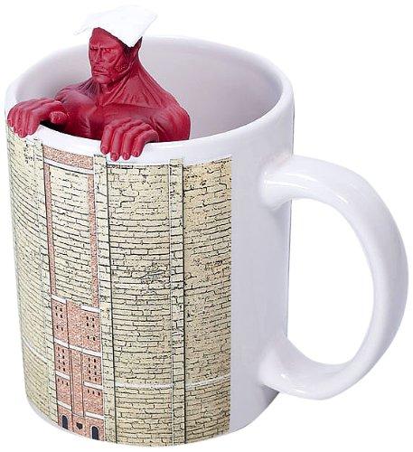進撃の巨人 超大型巨人の茶こし+マグカップセット