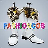 サイズ選択可女性22.5CM UA1374 ゴッドイーター2 GOD EATER2 真壁ハルオミ コスプレ靴 ブーツ