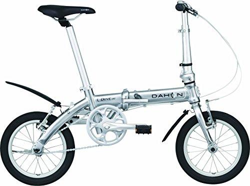 DAHON(ダホン) Dove Uno 14インチ シングルスピード 折りたたみ自転車 2017年モデル クイックシルバー 17DOVESL00