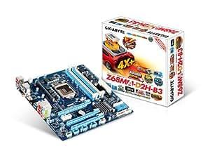 GIGABYTE マザーボード intel Z68 μATX PCI-E Gen3対応 Smart Response 対応 LucidLogix Virtu対応 GA-Z68MA-D2H-B3/G3