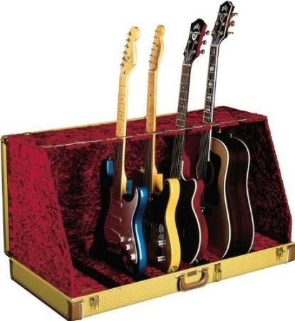 【 並行輸入品 】 Fender (フェンダー) 099-1007-506 Studio ギターケース Stand - Black Textured Vinyl
