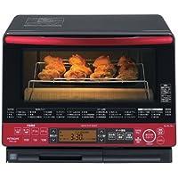 日立 31L 過熱水蒸気オーブンレンジ ビッグオーブン ヘルシーシェフ MRO-LS8-R パールレッド