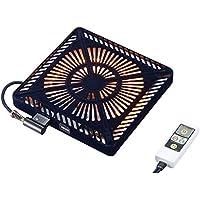 メトロ(METRO) こたつ用取替えヒーター U字型カーボンヒーター 「速暖ボタン」・「ECOボタン」付 5時間切タイマー付 手元温度コントロール式 MCU-501EC(K)
