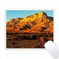 アメリカ合衆国。テキサス、グアダルーペマウンテンNP。エル・キャピタン・プロミネンス PC Mouse Pad パソコン マウスパッド