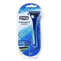 Schick Protector3 1 Razor + 2 Cartridges Refills Blade [並行輸入品]
