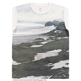 (グラニフ)graniph コラボレーション半袖Tシャツ / 氷河 ( 津田直 ) ( ホワイト ) L