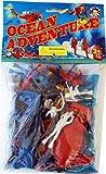 Ocean Adventure Playset: 28 piece Scuba Diver Figures , Higgins Boat, Raft, Torpedo Craft - 1:35 scale by Billy V [並行輸入品]