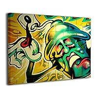 Derrick Amanda Graffiti Cool Hip Hop Art Bad Ass アートパネル 壁掛け式の装飾画 壁アート インテリアアート 額縁なし ポスター 部屋飾り ウォールアート 壁飾り アートフレーム 壁絵 モダン