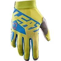Leatt GPX 2.5x-flowオフロード/ダートバイクオートバイ手袋–ライム/ブルー/XL