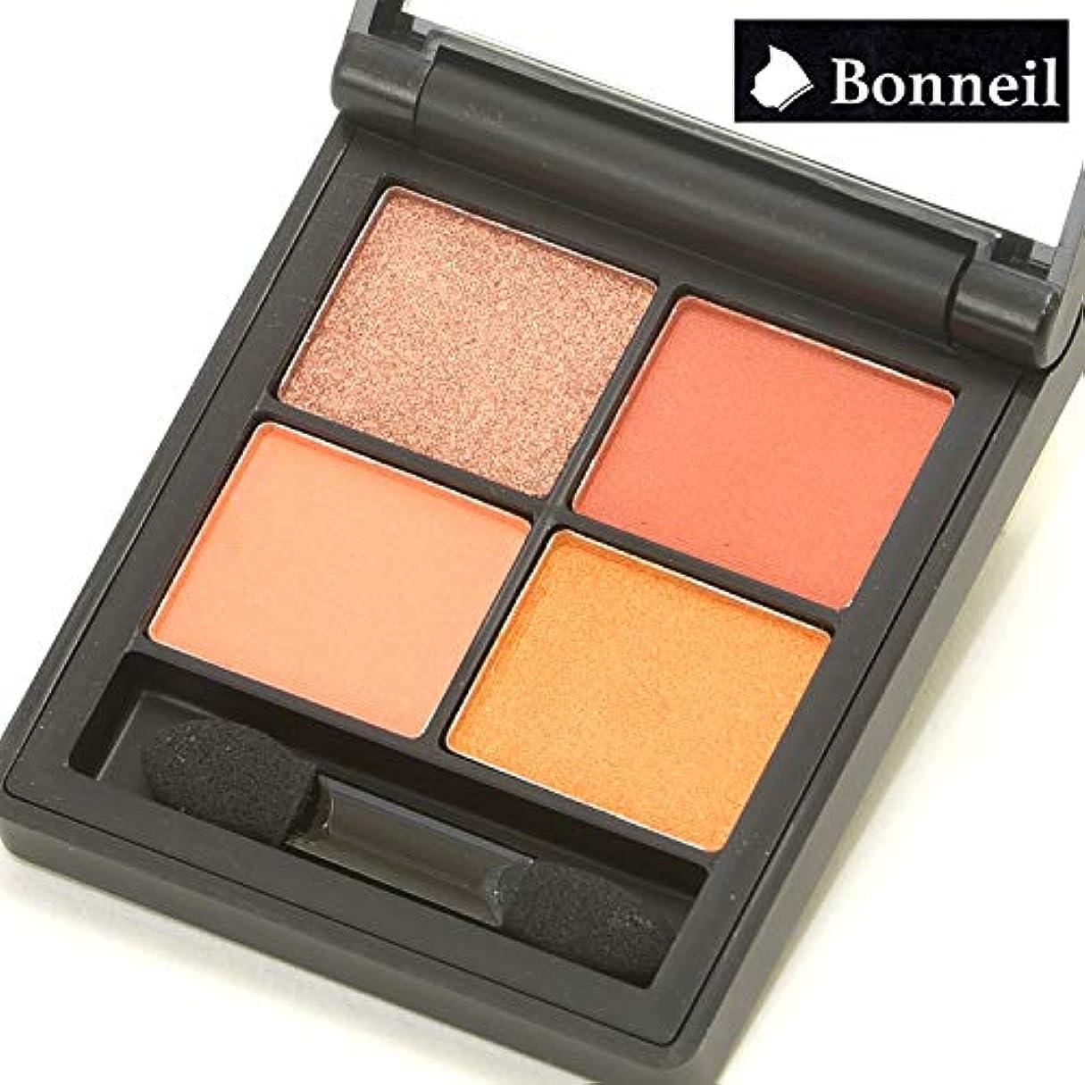 再現する松体操アイシャドウパレット 4色 チップ&ブラシ付属 Bonneil ボヌール