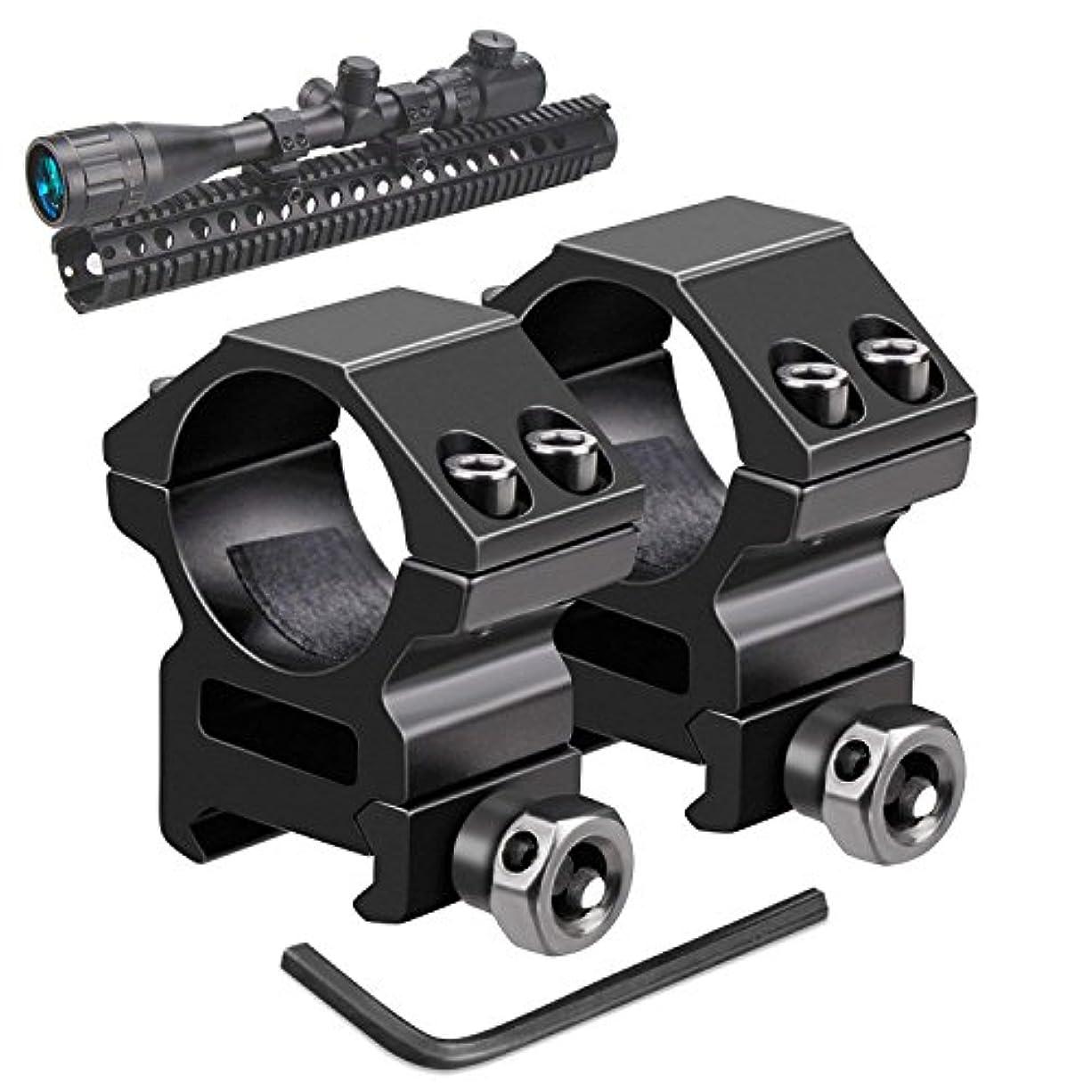 雇うシャイ必要性Uniquefire マウントリング LOW 20mmレイル対応