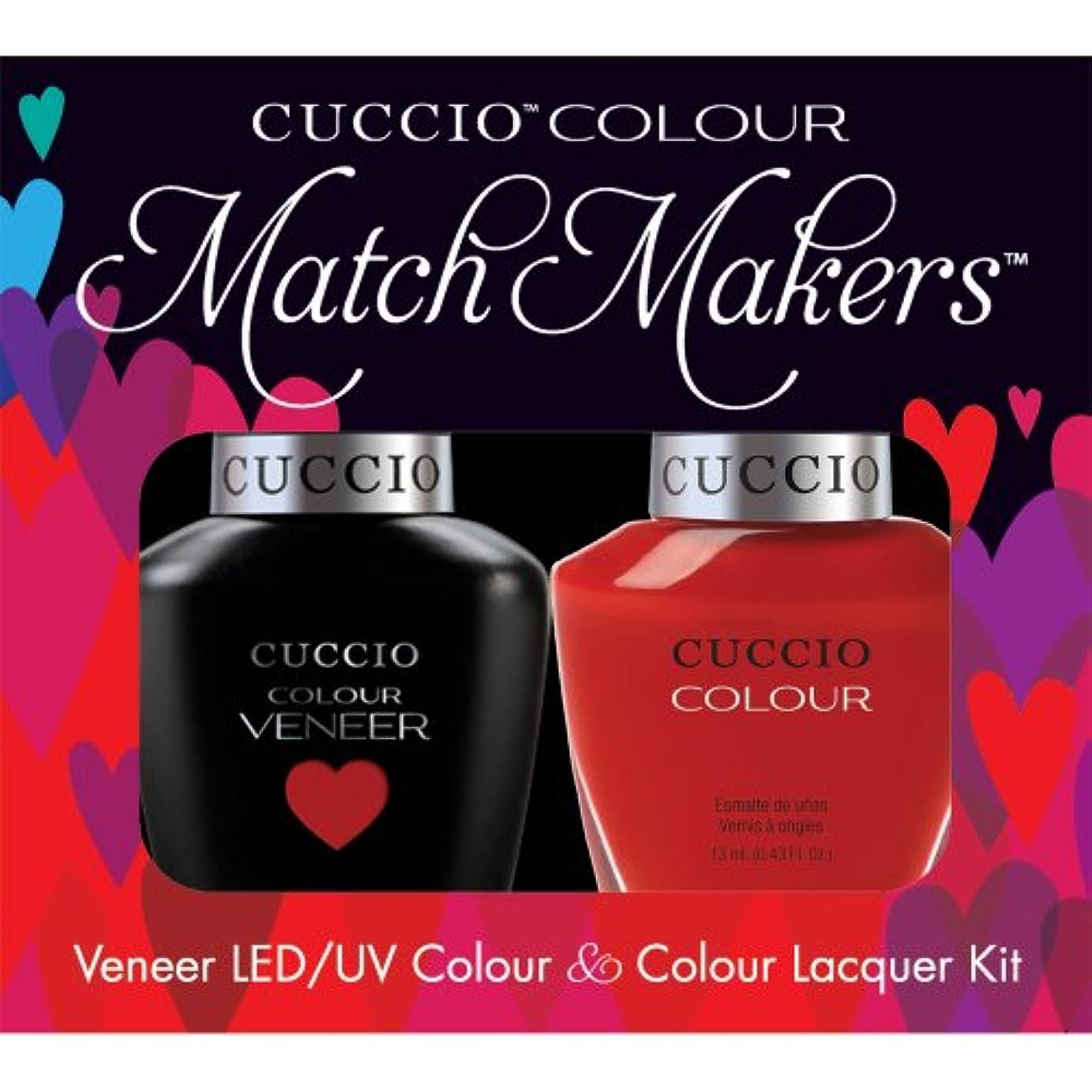 駅馬鹿げた接地Cuccio MatchMakers Veneer & Lacquer - Maine Lobster - 0.43oz/13ml Each