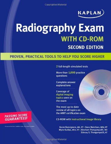 Download Kaplan Radiography Exam with CD-ROM 1419552740