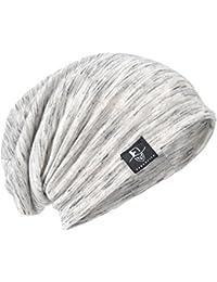 サマーニット帽 メンズ 薄手 ニットキャップ ロングサイズ 大きめ ゆったり B079