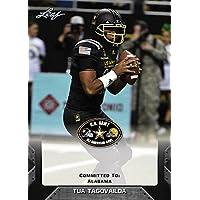 Tua tagovailoa 2017リーフアメリカ陸軍High School all-americanルーキーカード。アラバマ。