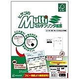 ヒサゴ FSC(R)認証 マルチプリンタ帳票 A4白紙4面 100枚入り FSC2006