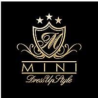 MINI DressUp Style カッティング ステッカー ゴールド 金
