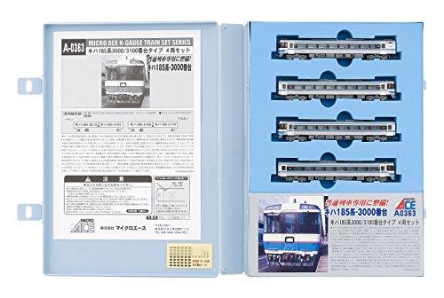 Nゲージ A0363 キハ185系3000・3100番台タイプ 4両セット