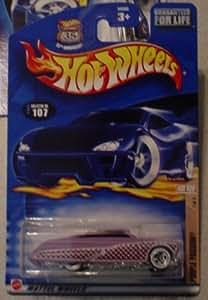 Hot Wheels 2002 107 Hot Rod Magazine PURPLE PASSION 1/4 1:64 Scale by Hot Wheels [並行輸入品]