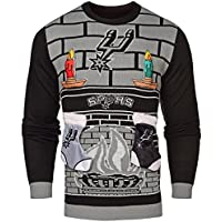 (San Antonio Spurs, Small) - NBA 3D Ugly Sweater