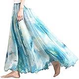 (アッシュランゲル)ASHERANGELレディース 花柄ロングスカート ふんわりマキシスカート 31#