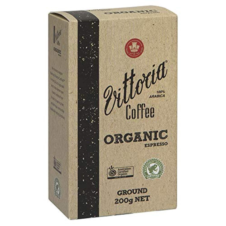 Vittoria Coffee Organic Espresso 200g groundヴィットリアコーヒー オーガニックエスプレッソ250g(粉)
