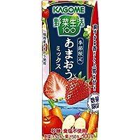 カゴメ 野菜生活100 あまおうミックス 195ml×24個