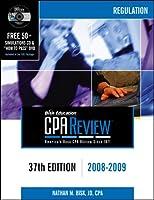 CPA Comprehensive Exam Review 2008-2009: Regulation (CPA COMPREHENSIVE EXAM REVIEW REGULATION)